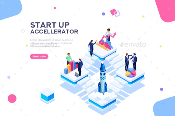 Startup Template for Web Page - Concepts Business