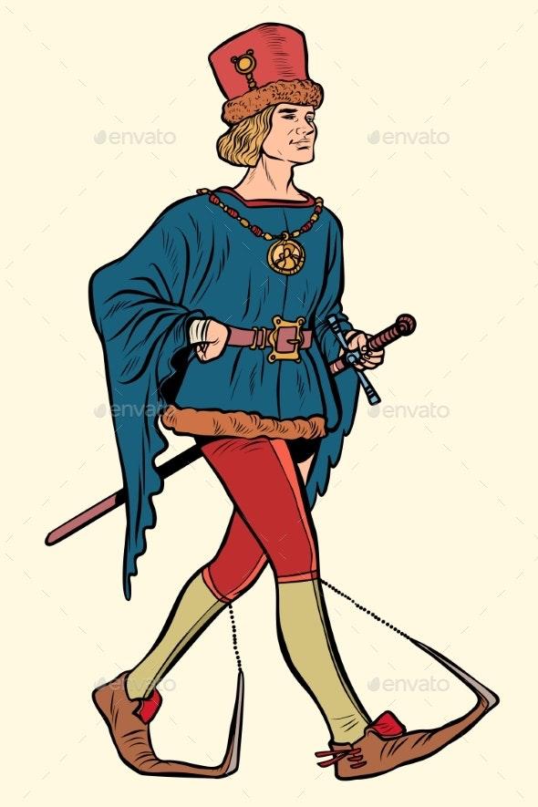 Medieval Man - People Characters
