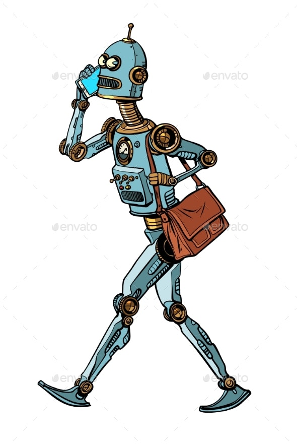 Smartphone and Robot - Computers Technology