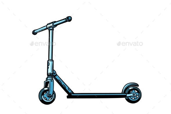 Kick Scooter Youth Transport - Miscellaneous Vectors