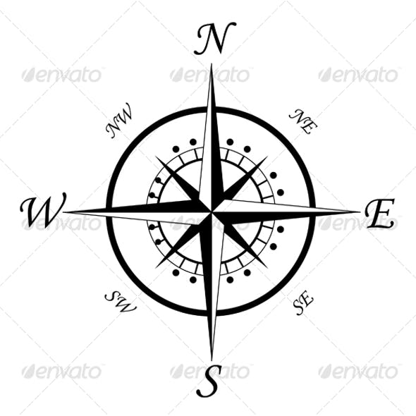 Compass symbol 3