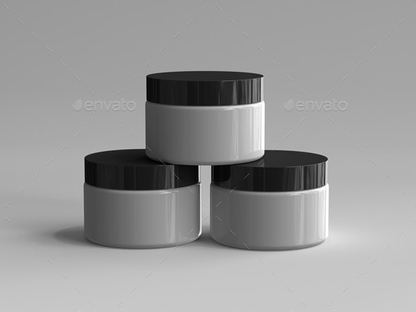 3D Rendered Cosmetic Container - Objects 3D Renders