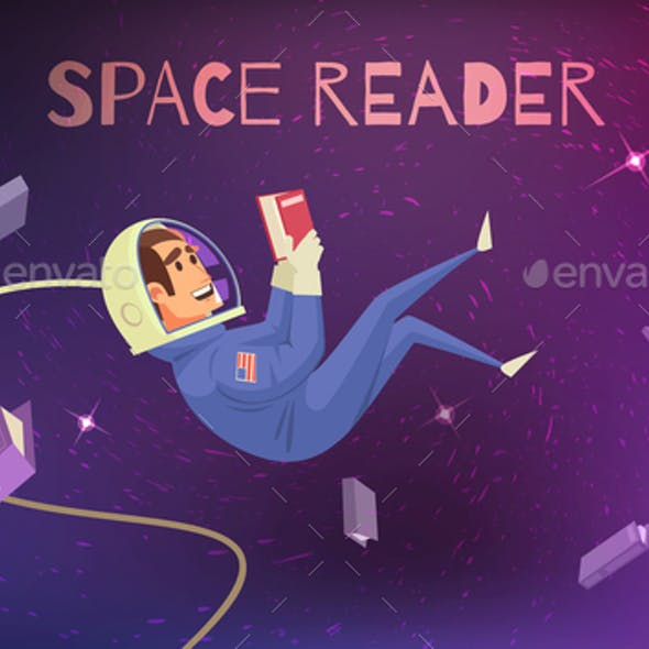Space Reading Background
