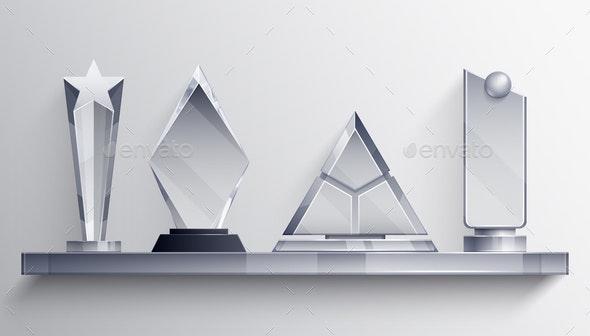 Trophies Shelf Concept - Sports/Activity Conceptual