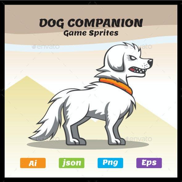 Snow - 2D Dog Companion Sprites