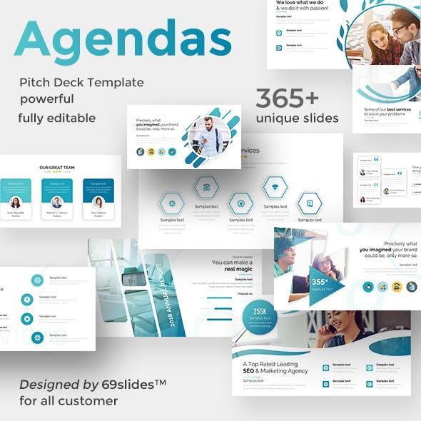 Innovation Agendas Pitch Deck Google Slide Template