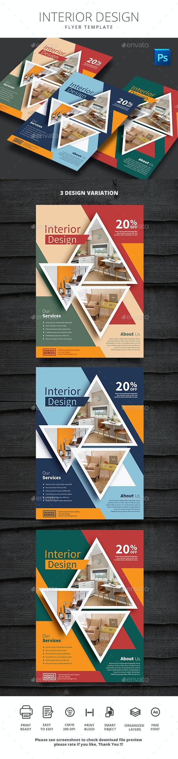 Interior Design - Print Templates