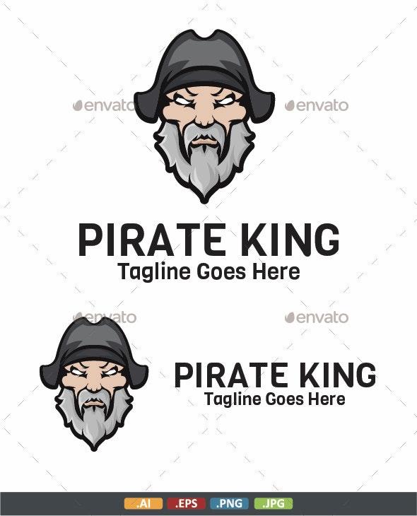 Pirate King Logo - Humans Logo Templates