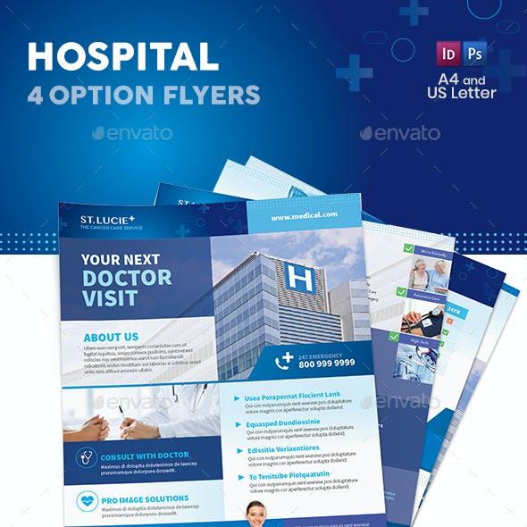 Hospital Flyers 2 – 4 Options