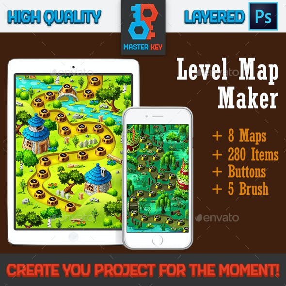 Forest Game Level Map Maker