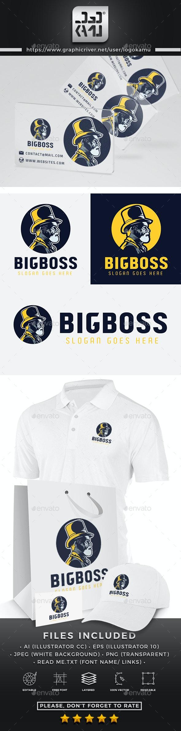Big Boss Logo - Humans Logo Templates