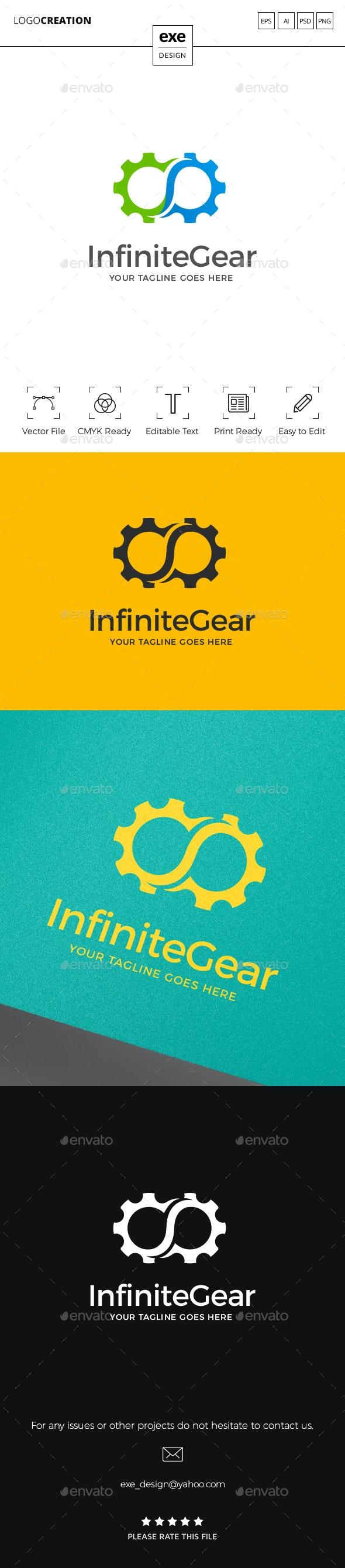 Gear Logo - Vector Abstract
