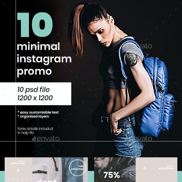 Instagram Pack Promo
