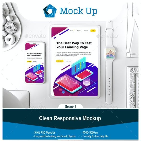 Clean Responsive