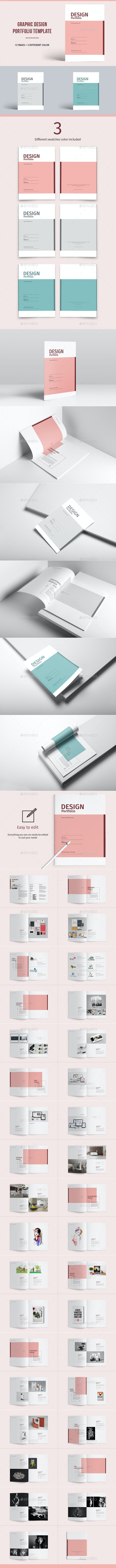 Graphic Design Portfolio Template - Portfolio Brochures