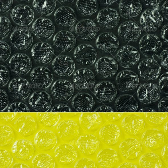 Bubble Wrap in 8 colors
