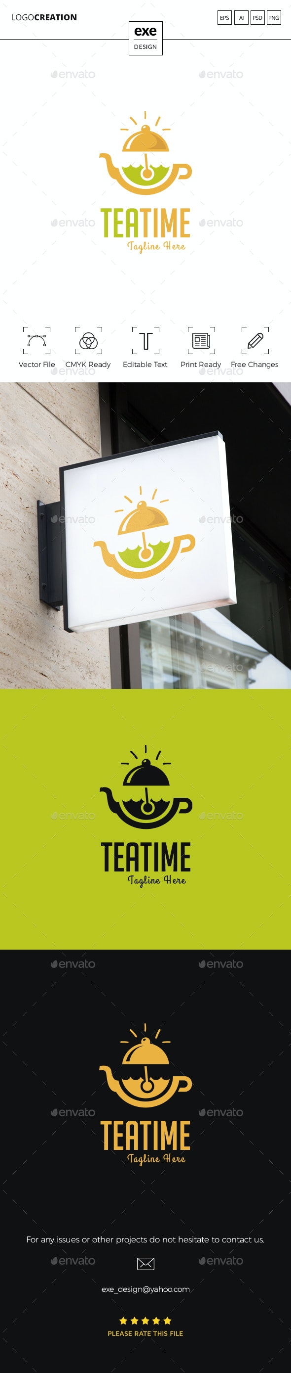 Tea Logo - Food Logo Templates