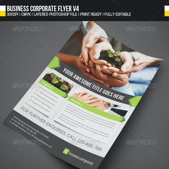 Business Corporate Flyer V4