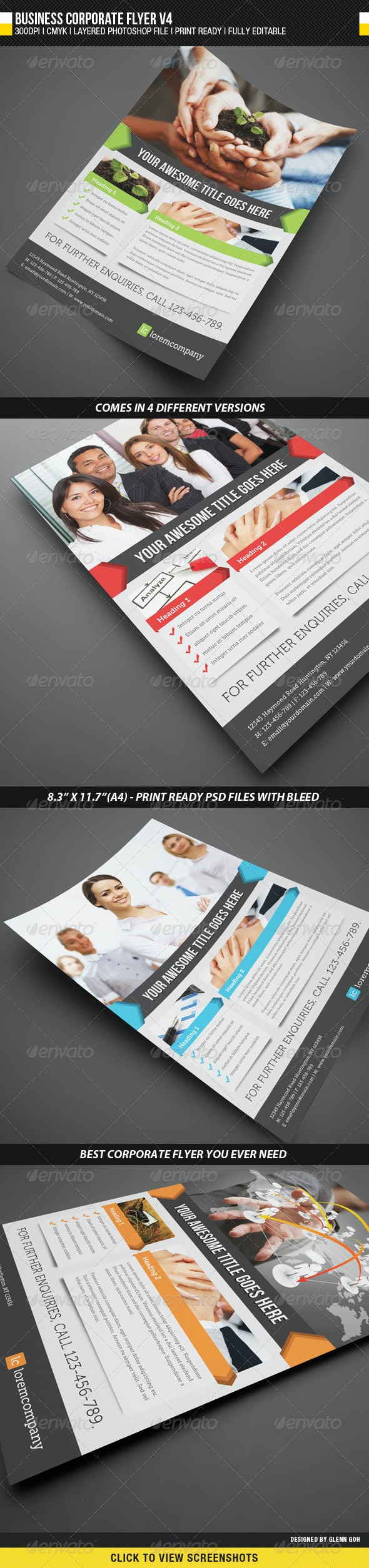 Business Corporate Flyer V4 - Corporate Flyers