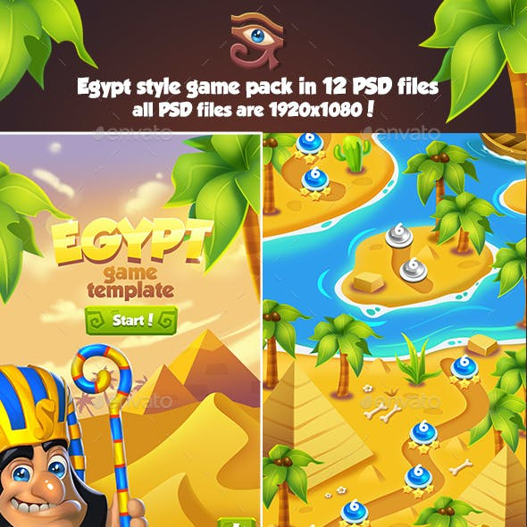 Full Egypt Game Pack