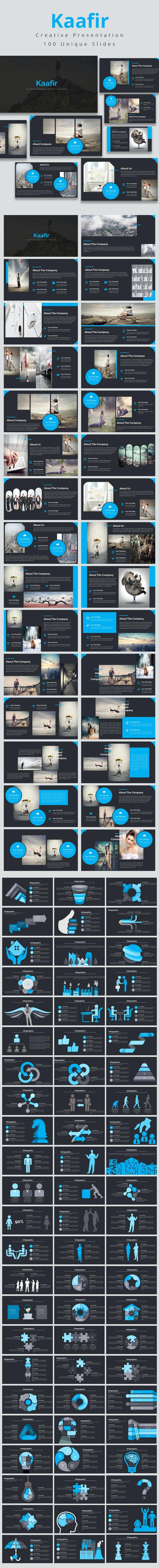 Kaafir Multi-purpose Powerpoint Template - Business PowerPoint Templates