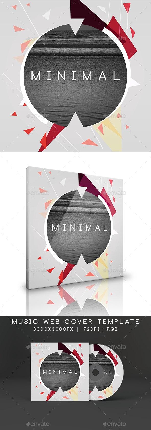 Minimal Music Cover Album Artwork Template - Miscellaneous Social Media