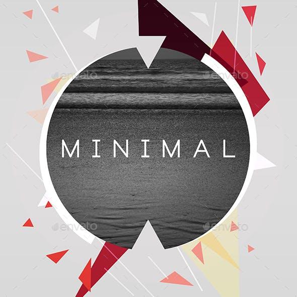 Minimal Music Cover Album Artwork Template
