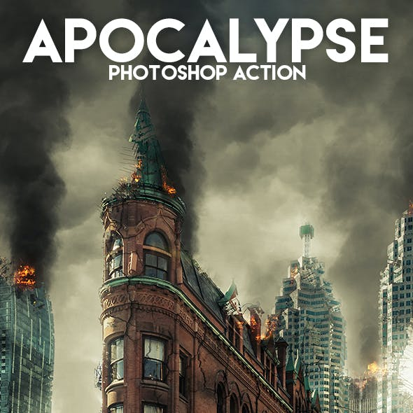 Apocalypse Photoshop Action
