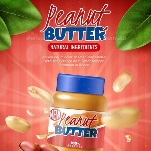 Peanut Butter Poster Ad