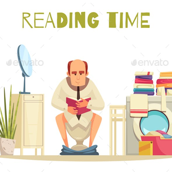 Reading Time Background
