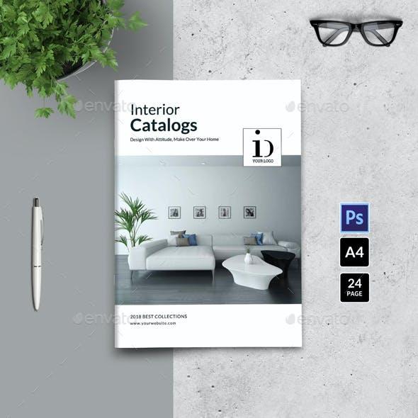 PSD - Interior Brochure / Catalogs