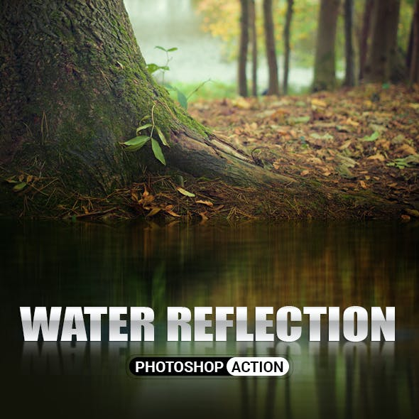 Water Reflection Photoshop Action
