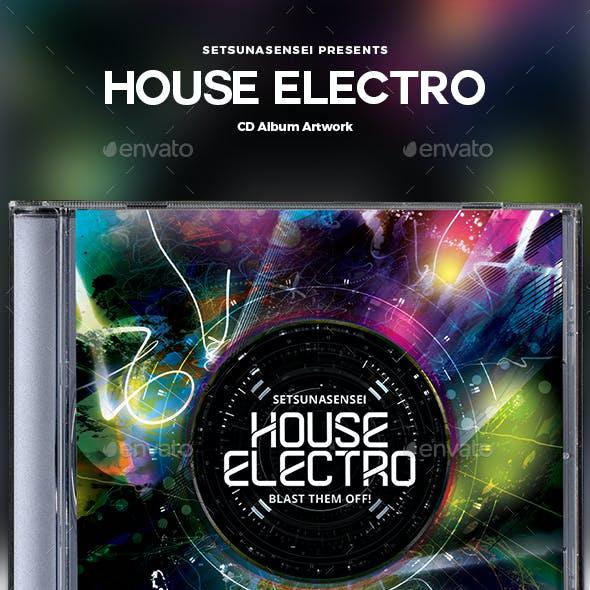 House Electro CD Album Artwork
