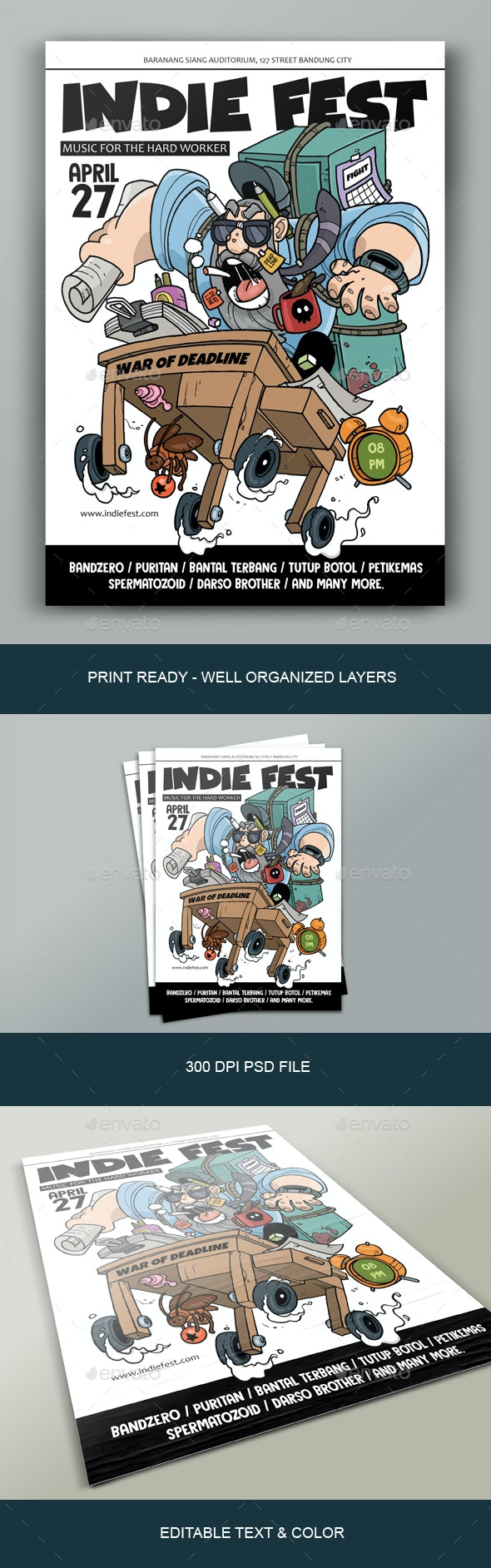 War of Deadline Poster - Miscellaneous Events