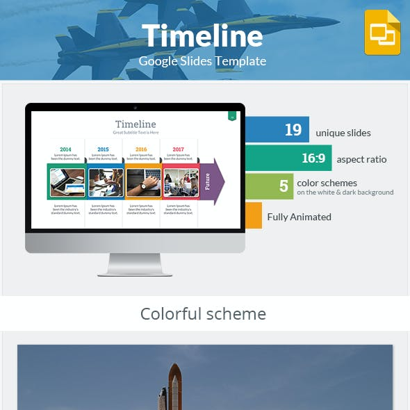 Timeline Google Slides Template