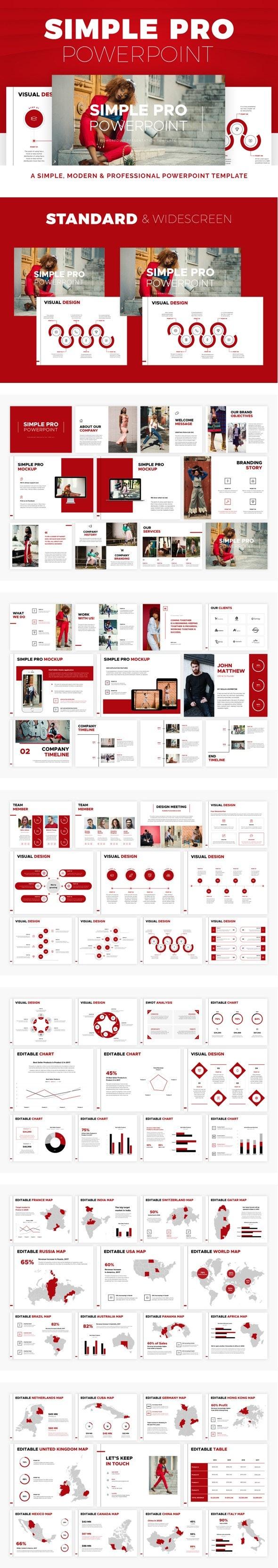 Simple PRO PowerPoint - PowerPoint Templates Presentation Templates