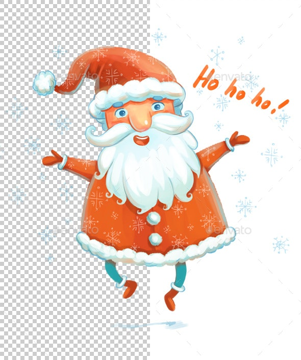 Santa Claus - Characters Illustrations