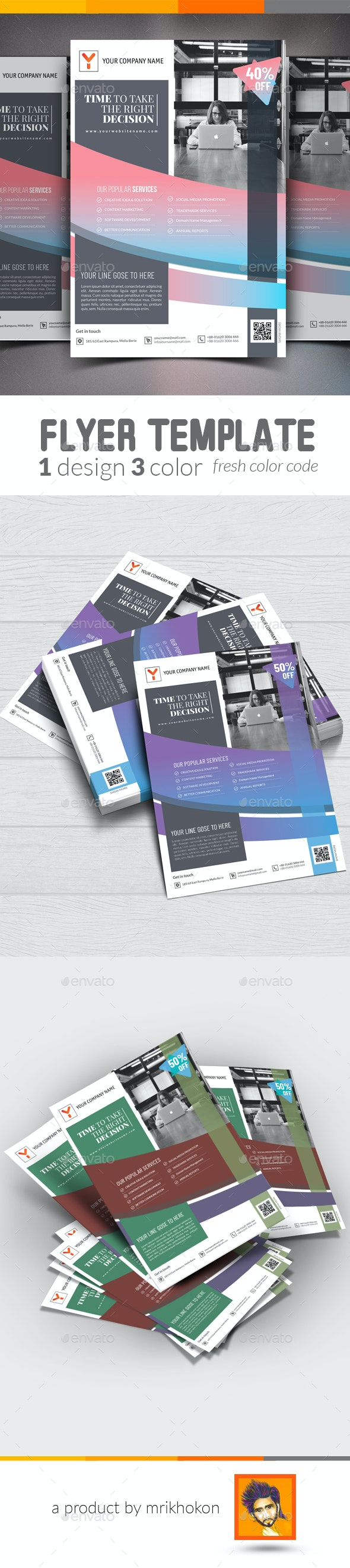 Creative Flyer Template - Miscellaneous Events