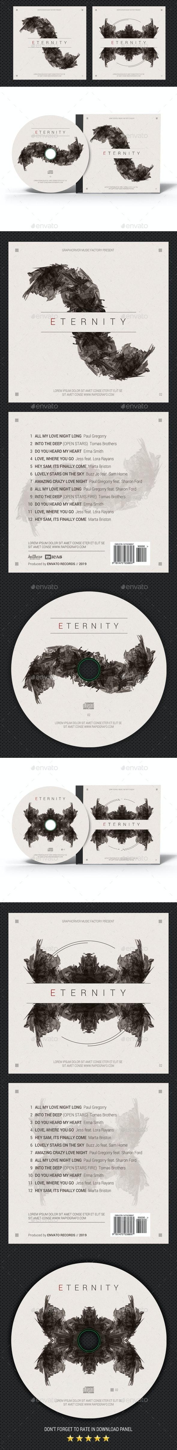 Eternity CD Cover - CD & DVD Artwork Print Templates