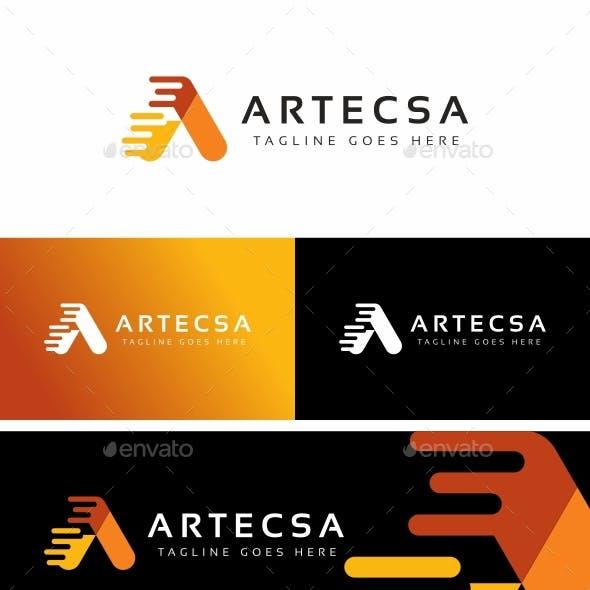 Letter A - Artecsa Logo