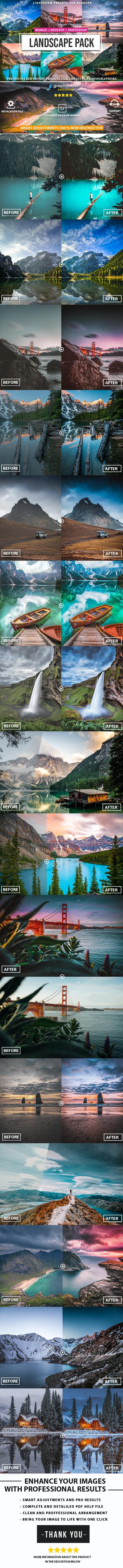 Landscape Presets Lightroom - Landscape Lightroom Presets