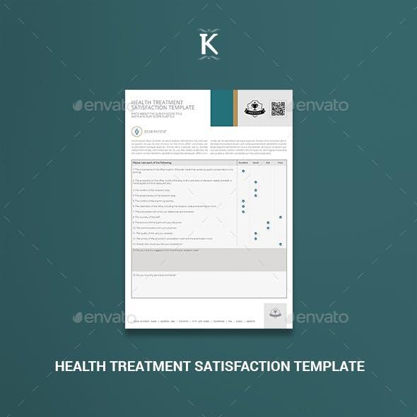 Health Treatment Satisfaction Template