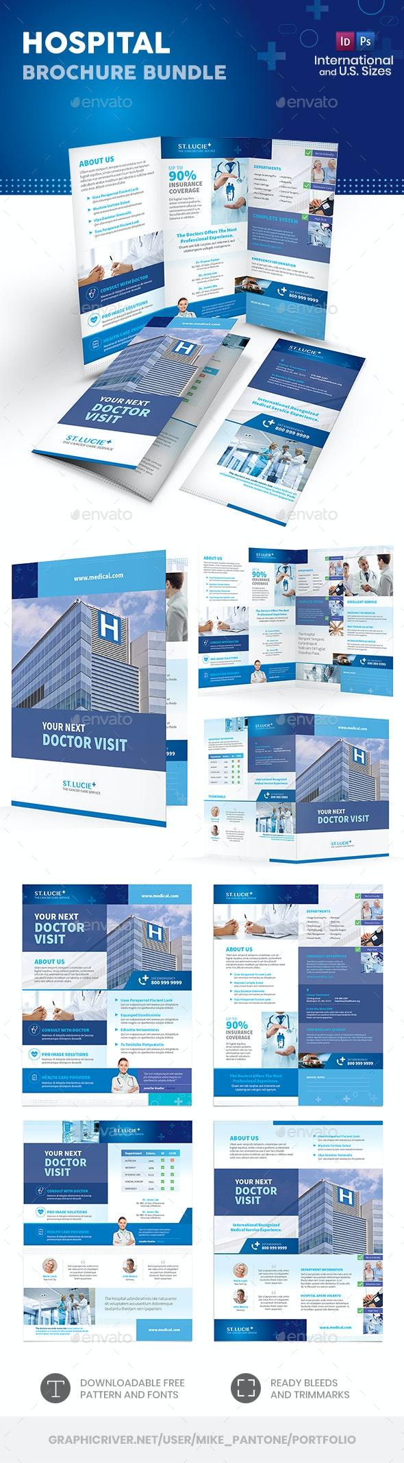 Hospital Print Bundle 2 - Informational Brochures