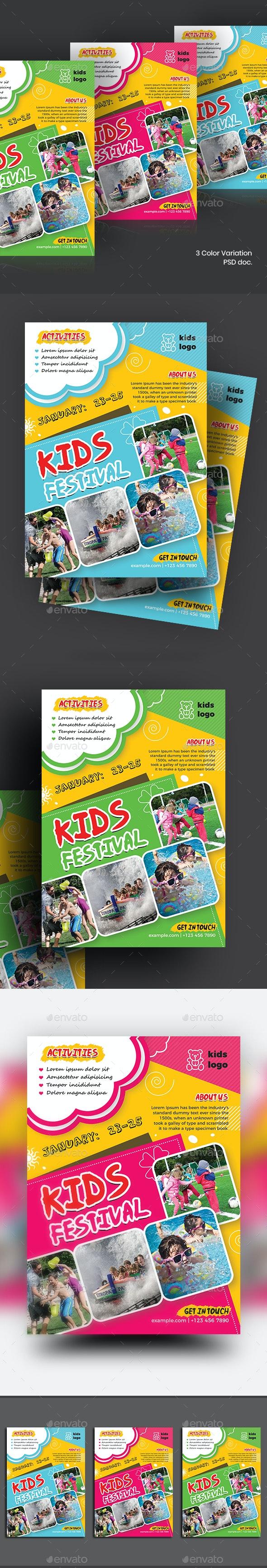 Kids Activities Flyer - Flyers Print Templates