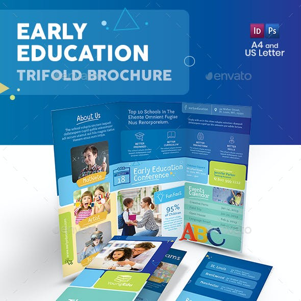 Early Education Trifold Brochure