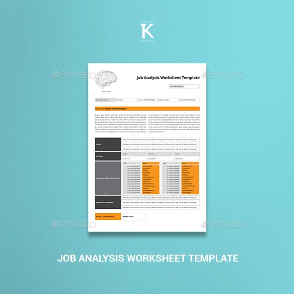 Worksheet Graphics Designs Templates From Graphicriver