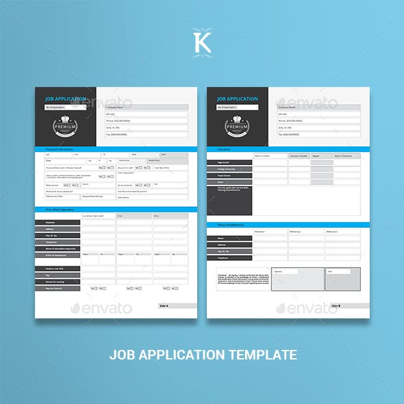 Job Application Graphics Designs Templates From Graphicriver