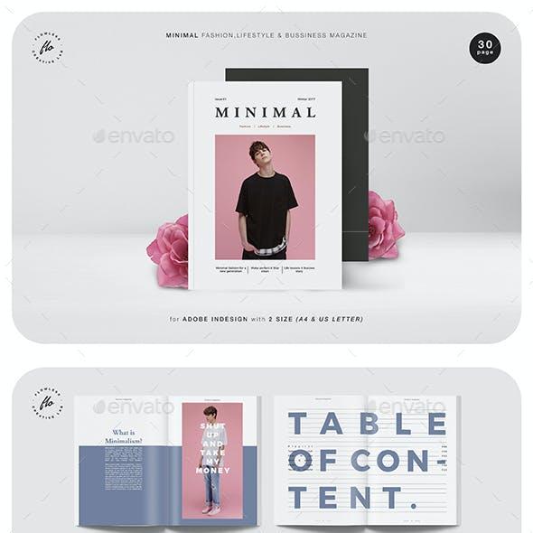 Minimal Fashion & Business Magazine