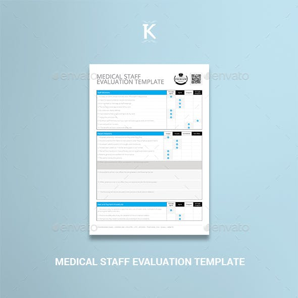 Medical Staff Evaluation Template