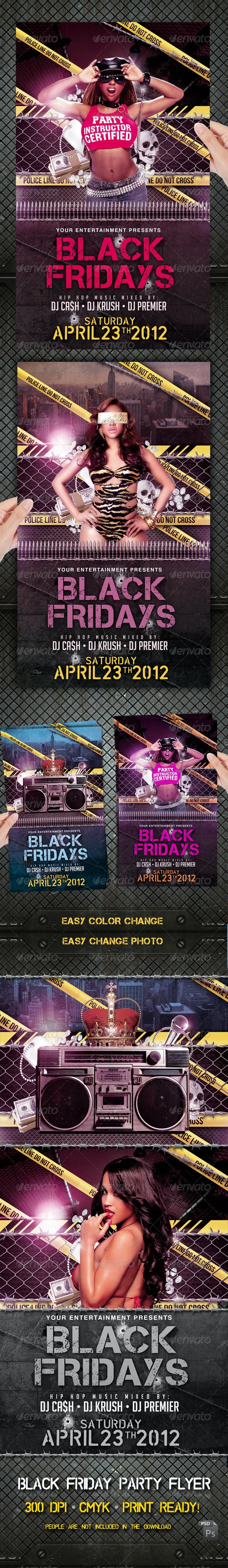 Black Friday Hip Hop Party - Clubs & Parties Events
